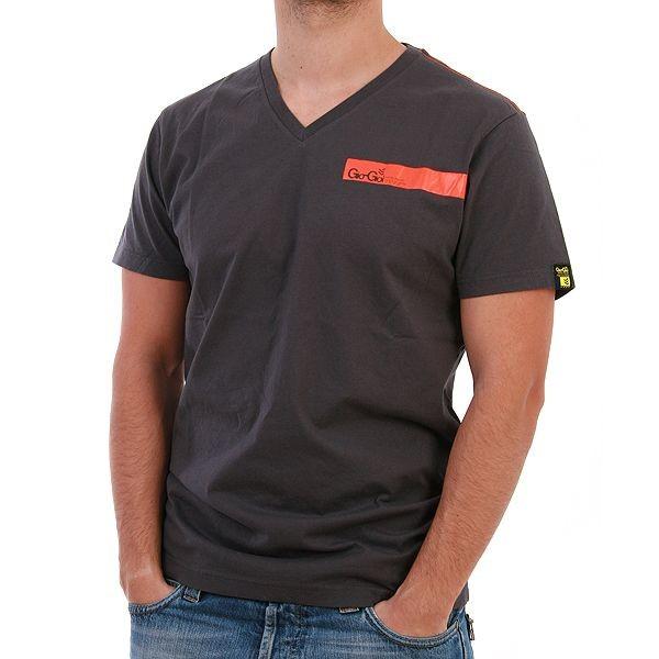 Gio Goi T-Shirt Men - Torment - Grau – Bild 1