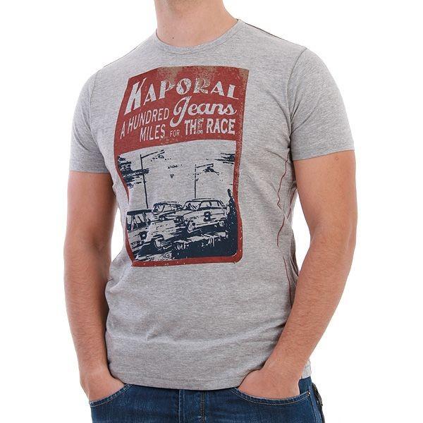 Kaporal T-Shirt Men - Milles - Grau – Bild 0