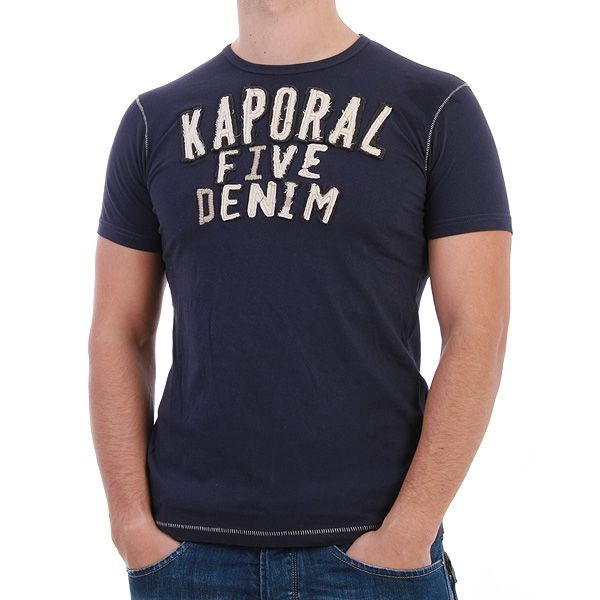 Kaporal T-Shirt Men - Pasic - Navy – Bild 0