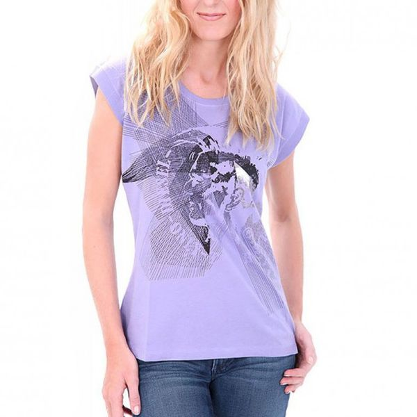 Diesel T-Shirt Women - Tornel - Lila – Bild 2