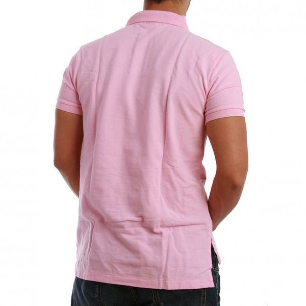 Ralph Lauren Polo Shirt - BASIC POLO - Carmel Pink – Bild 1