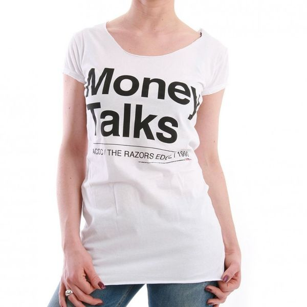 Amplified T-Shirt Women - MONEY TALKS - White – Bild 1