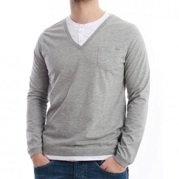 LTB Jeans Longsleeve Men - AVANTE - Grey Melange – Bild 1