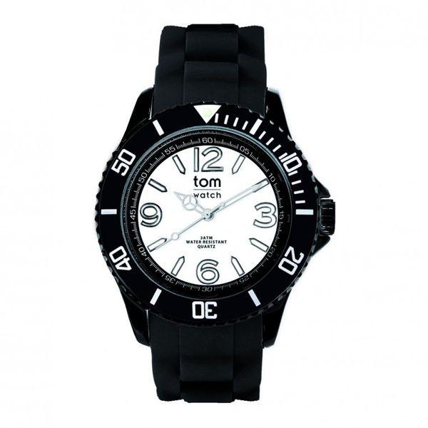 Tom Watch Uhr - 44mm - WA00110 - Black-White – Bild 1