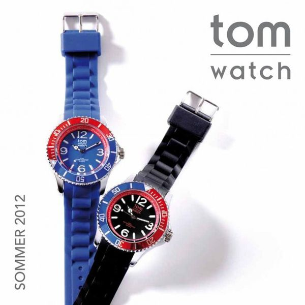 Tom Watch Uhr - 44mm - WA00105 - White-Strawberry Red – Bild 4