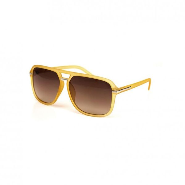 Be Famous Sonnenbrille - RAFFA - Yellow Ansicht