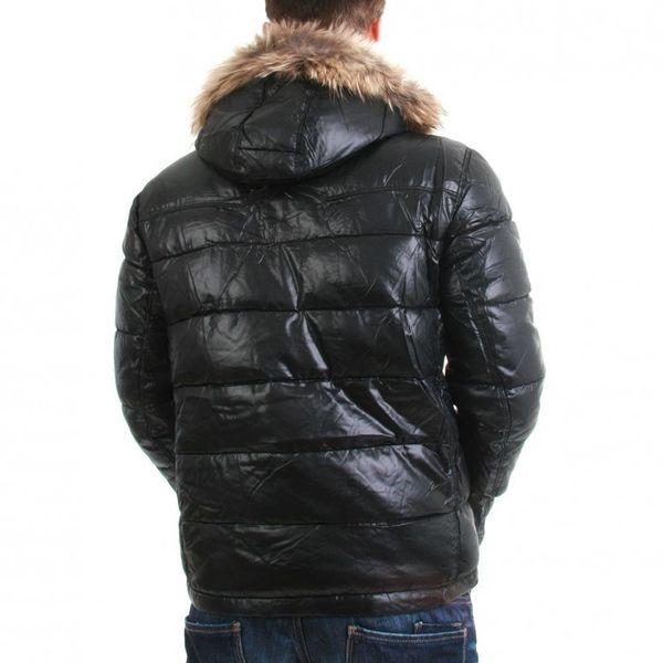 Japan Rags Jacke Men - AMARILLO - Black – Bild 2