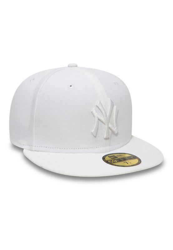 New Era 59Fiftys Cap - NY YANKEES - Optic White on White – Bild 1