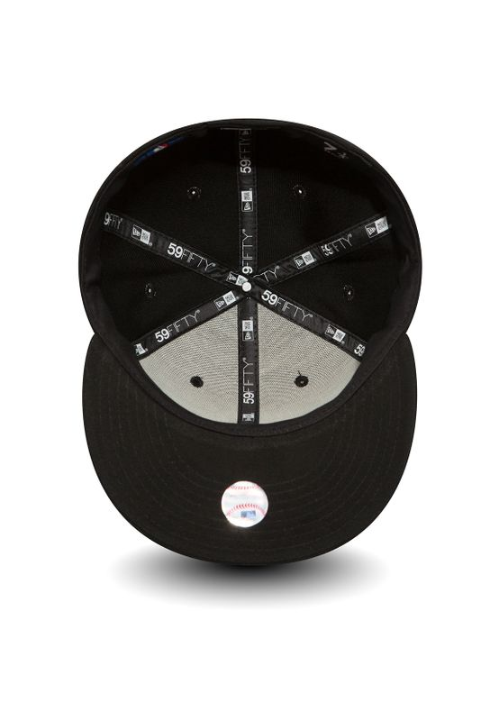 New Era 59Fiftys Cap - NY YANKEES - Black-White – Bild 3