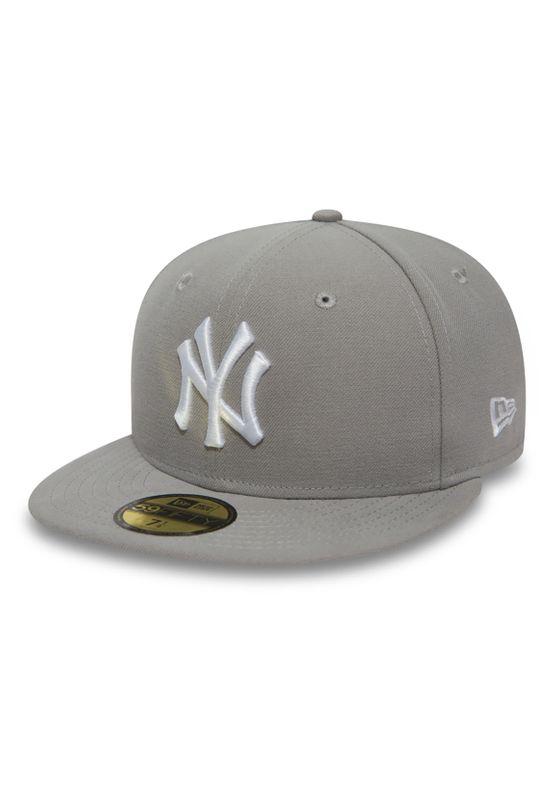 New Era 59Fiftys Cap - NY YANKEES - Grey-White Ansicht