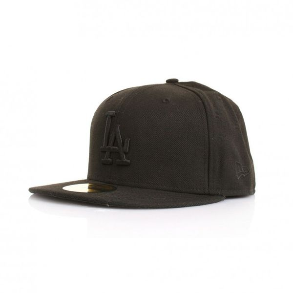 New Era 59Fiftys Cap - LA DODGERS - Black on Black – Bild 1