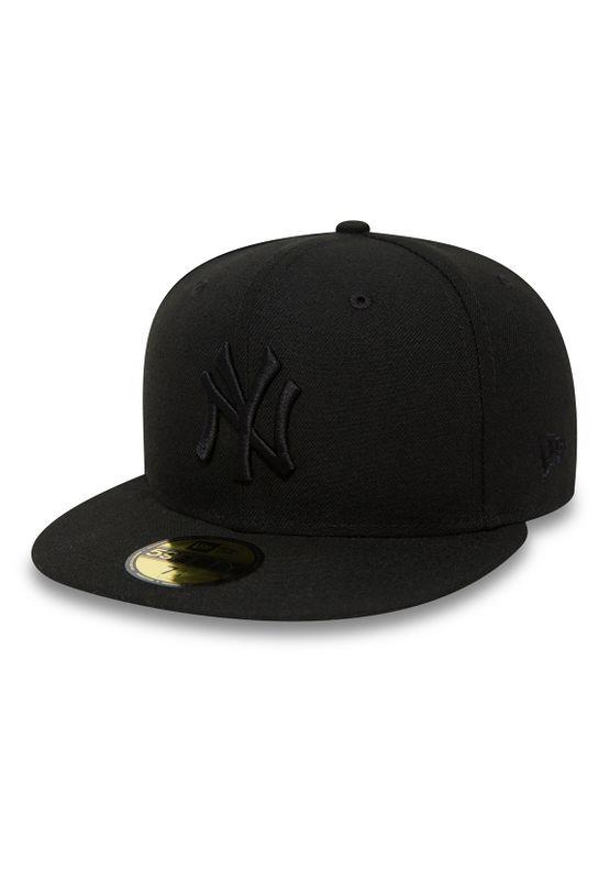 New Era 59Fiftys Cap - NY YANKEES - Black on Black – Bild 0