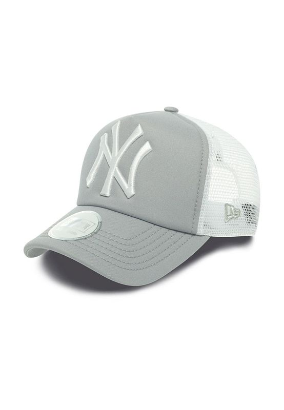 New Era Clean Trucker Cap - NY YANKEES - Grey-White – Bild 0