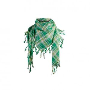 MASTERDIS Schal - MULTI PLAID BANDANA SCARF - Lime-Kelly