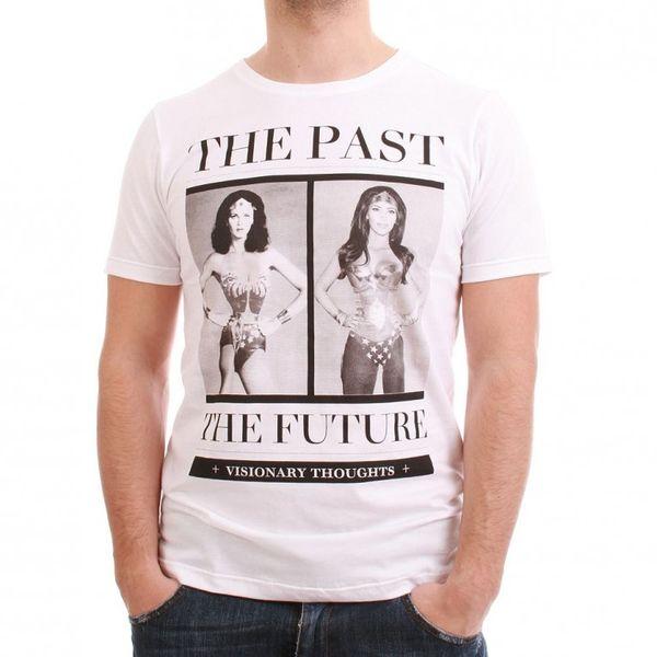 SMS Simple Makes Sense T-Shirt Men - PAST-FUTURE - White – Bild 1
