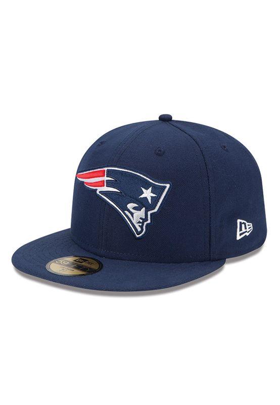 New Era NFL On Field Cap - NEW ENGLAND PATRIOTS - Blue – Bild 1