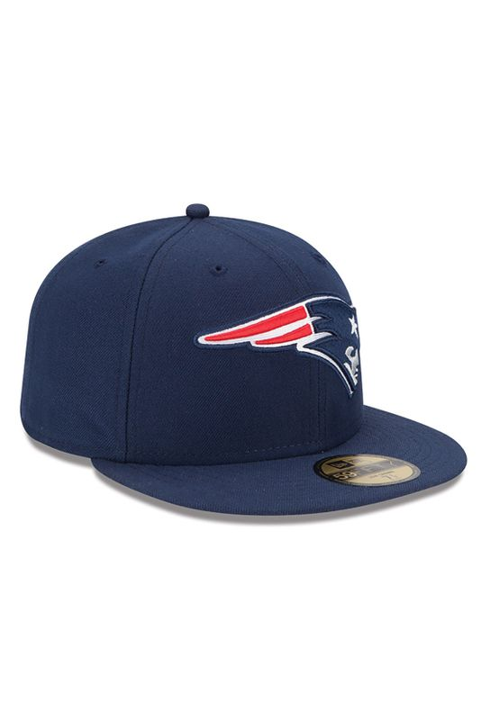 New Era NFL On Field Cap - NEW ENGLAND PATRIOTS - Blue – Bild 2