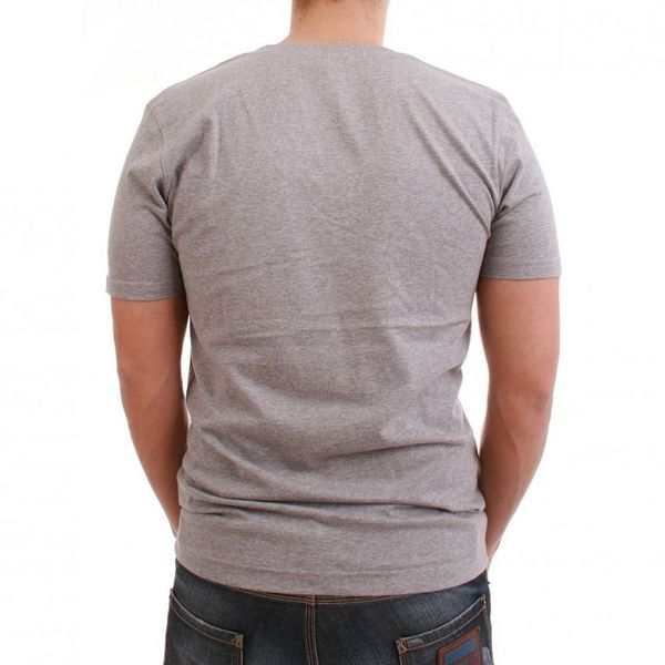 Be Famous T-Shirt Men - PSSST - Grey – Bild 2