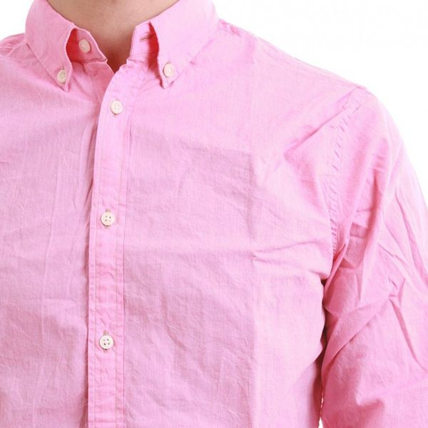 Scotch & Soda Hemd Men - CASUAL CHAMBRY 1301-03.20014 - Pink – Bild 3