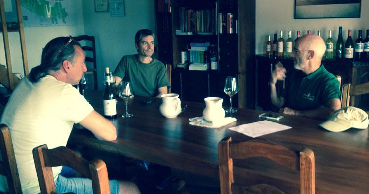 Michael Liebert im Weingut Cavalchina