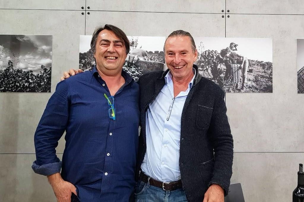 Filippo Cassano von Polvanera mit Michael Liebert
