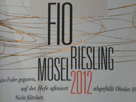 Riesling Fio 2012