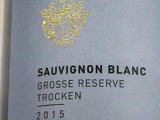 Sauvignon blanc 2016 Große Reserve