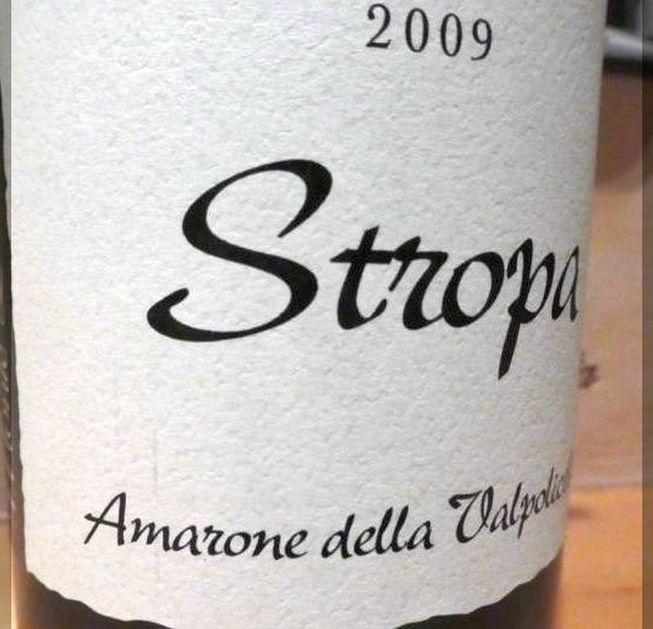 Amarone 2009 Stropa – Bild 1