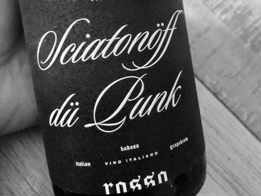 Domaine Molotow - Sciatonöff dü Punk - red blend