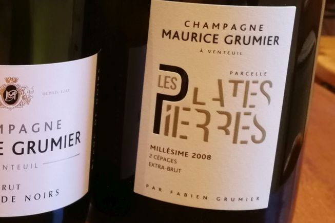 Champagne Extra-Brut 2008 Les Plates Pierre
