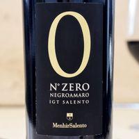 N° Zero 2015 (Negroamaro) 001