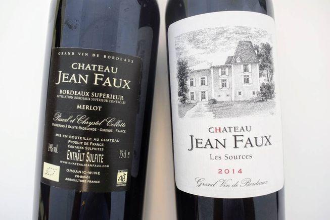 Bordeaux Supérieur 2014 Les Sources  – Bild 5