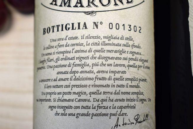 6er-Holzkiste Amarone 2013 Riserva – Bild 10