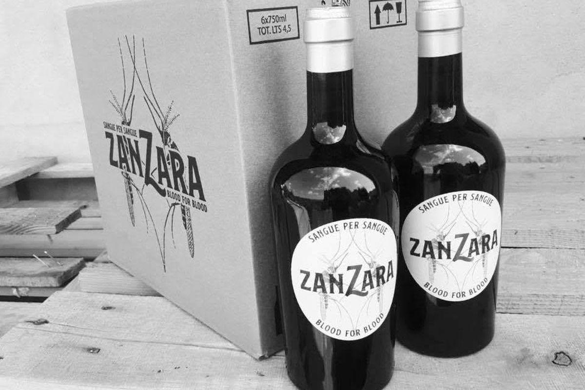 Zanzara vino rosso 2015