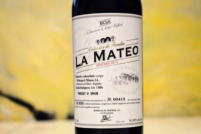 Rioja 2015 La Mateo – Bild 5