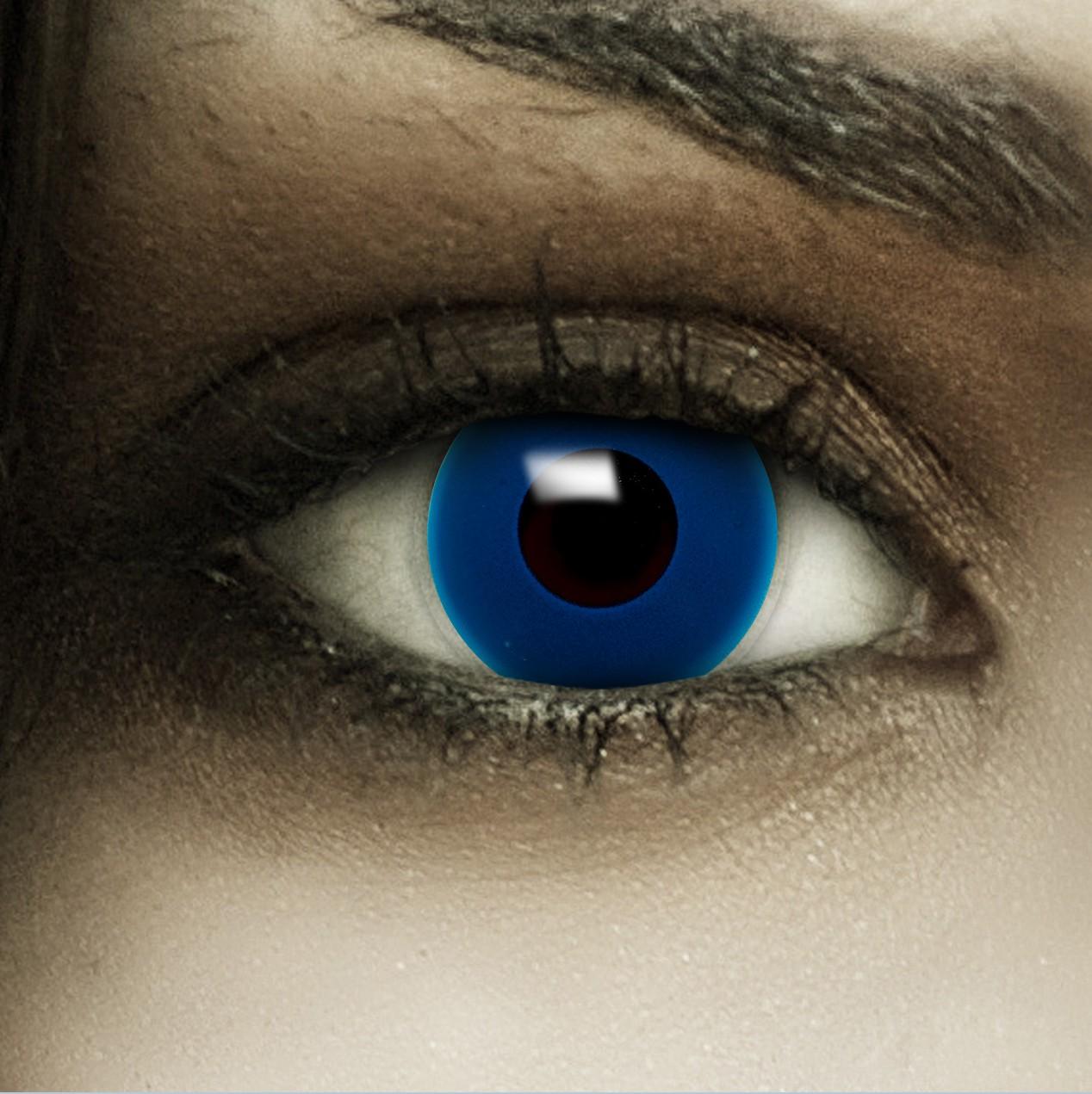 farbige halloween kontaktlinsen dunkel blau blaue ohne. Black Bedroom Furniture Sets. Home Design Ideas