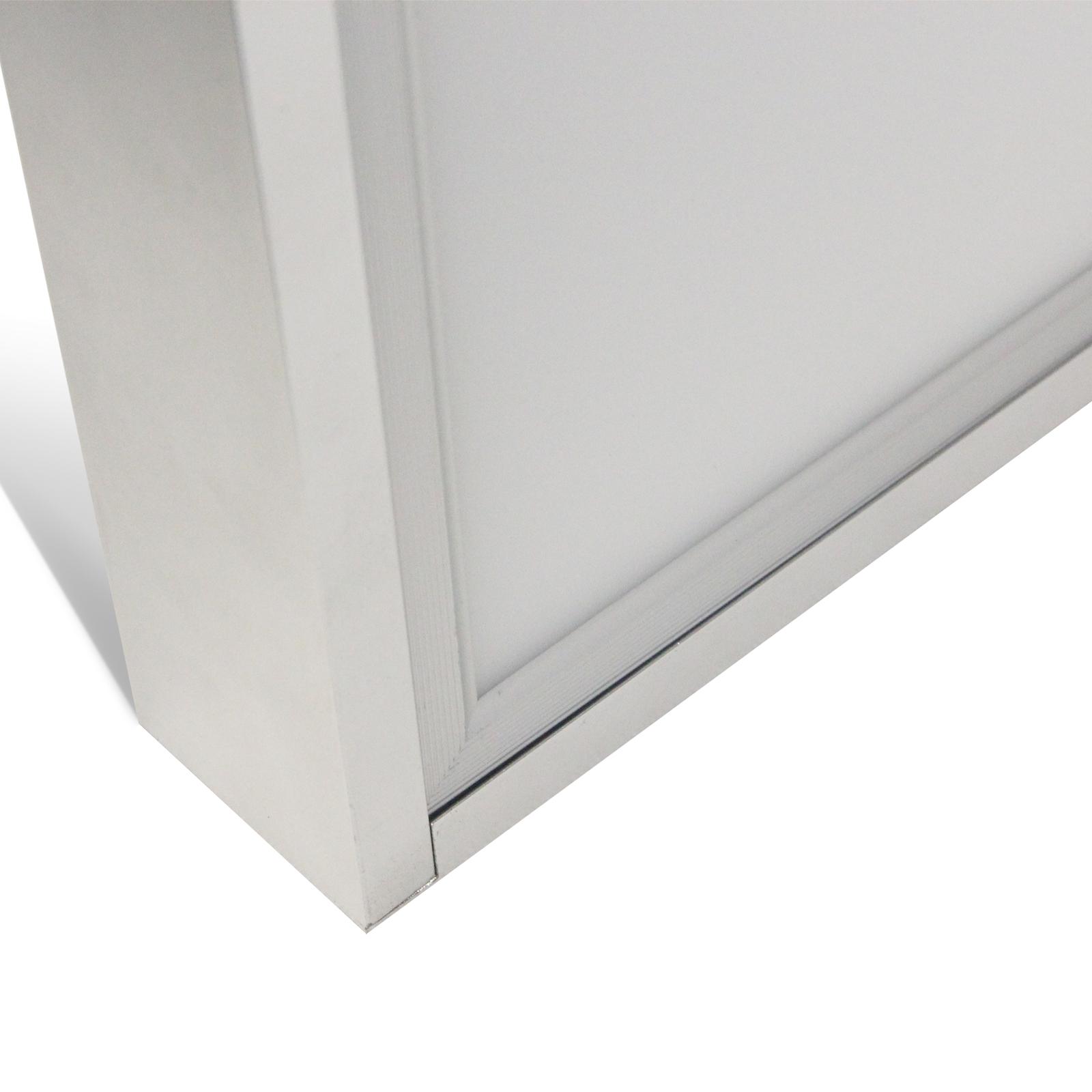 led panel rahmen anbaurahmen aufputz f r decke wand halterung geh use 62x62cm ebay. Black Bedroom Furniture Sets. Home Design Ideas