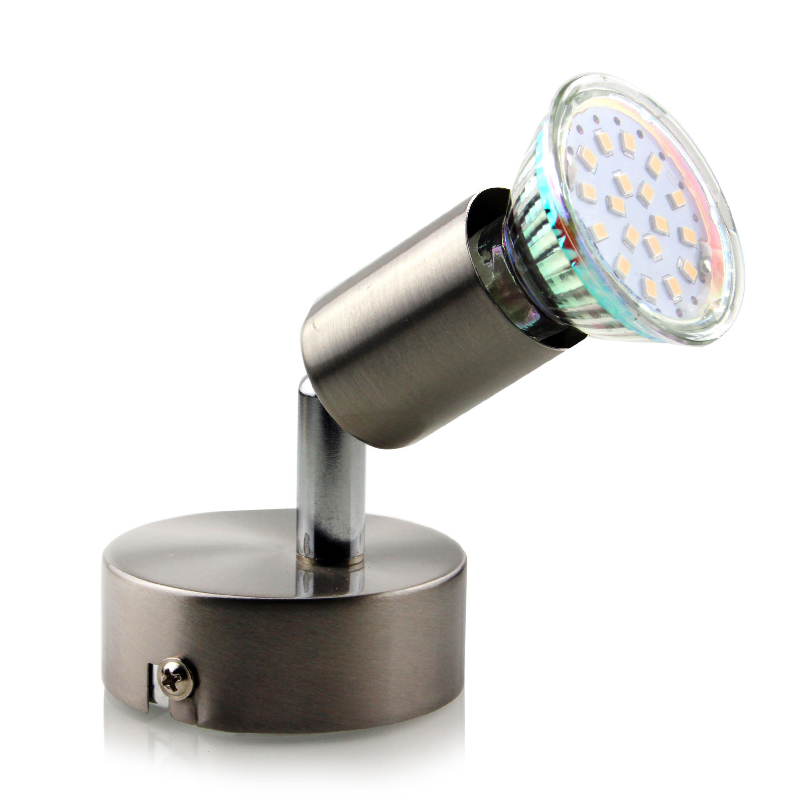 Led spot strahler 1 2 4 6 flammig deckenlampe spotlight for Deckenlampe led strahler