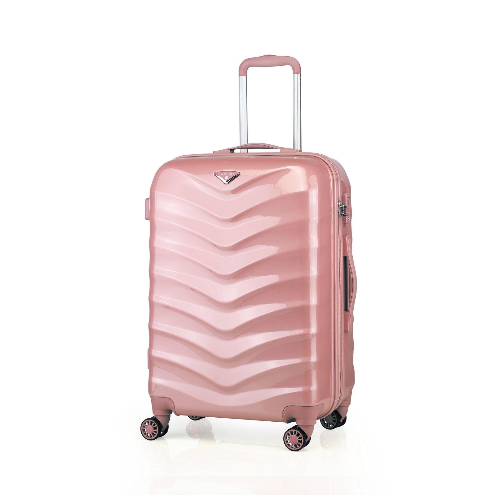 verage seagull koffer handgep ck trolley tsa schloss rosegold blau pink rosa set ebay. Black Bedroom Furniture Sets. Home Design Ideas