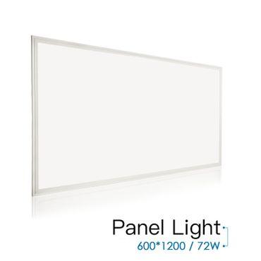 OUBO 120x60cm 72W Ultra-Slim LED Panel NW / WW / KW  Silberrahmen Deckenleuchte Pendelleuchte
