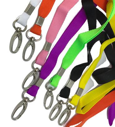 Lanyards, Schlüsselanhänger, Schlüsselbänder, Schlüsselband aus Nylon mit Crab Hook Verschluss – Bild 1