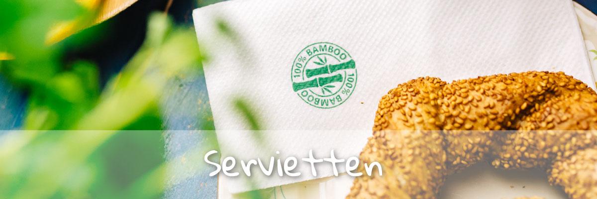 nachhaltige Servietten