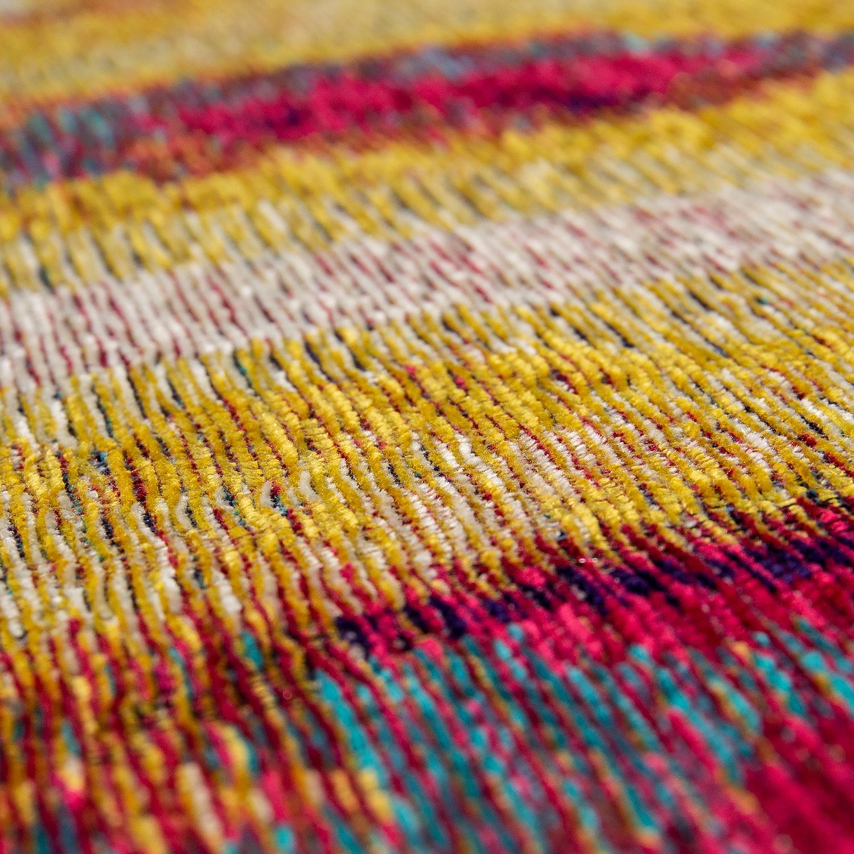 Alfombra pelo corto sal n dise o cuadro rojo amarillo azul multicolor alfombras alfombras de - Alfombras de pelo corto ...