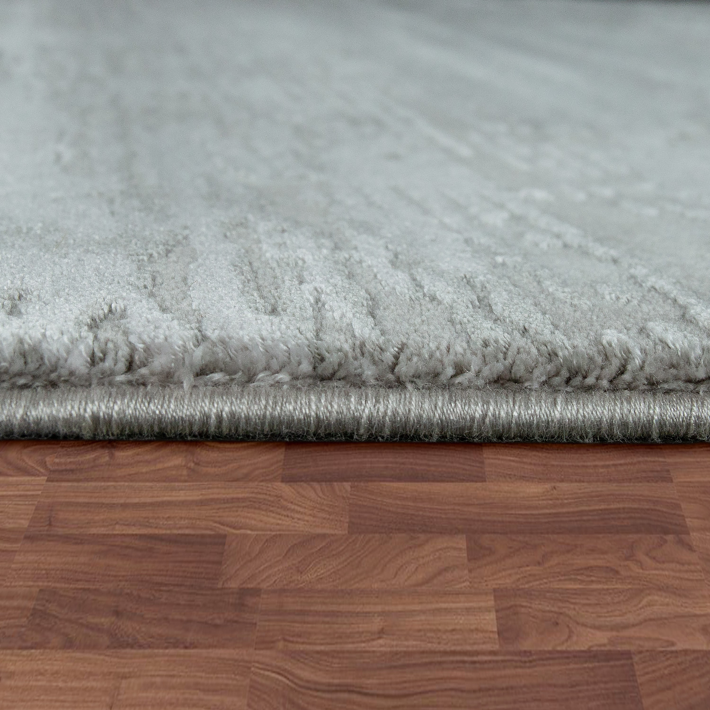 teppich shabby chic style 3 d effekt grau teppichcenter24. Black Bedroom Furniture Sets. Home Design Ideas