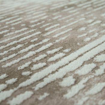 tapijt used-look corduroy-look beige crème – Bild 3