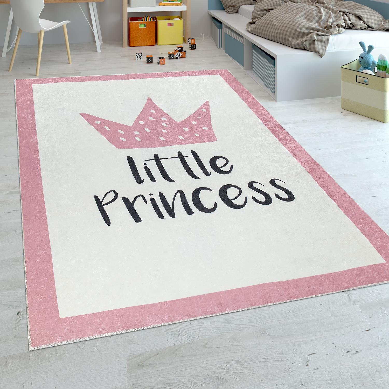 Tapis Enfant Chambre Enfant Filles Tapis Bébé Lavable Princesse ...
