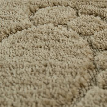 Bathroom Rug Non-Slip Footprint One-Colour In Various Sizes And Colours – Bild 4