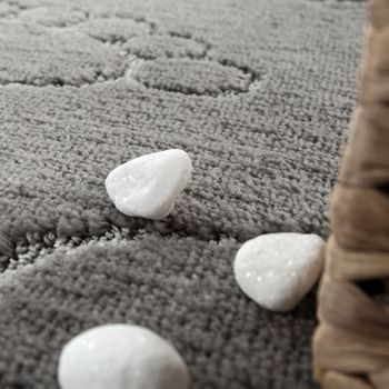 Bathroom Rug Non-Slip Footprint One-Colour In Various Sizes And Colours – Bild 10