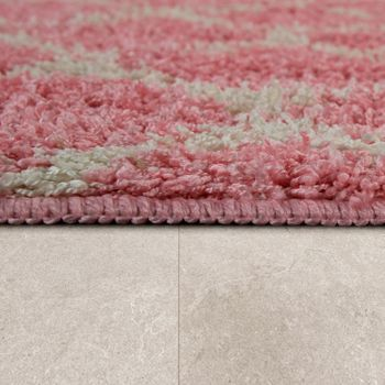 Bathmat With Diamond Design Deep-Pile Bathroom Mat In Various Sizes And Colours – Bild 15