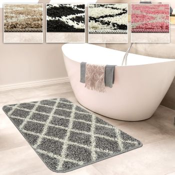 Bathroom Rug Diamond Various Sizes And Colours